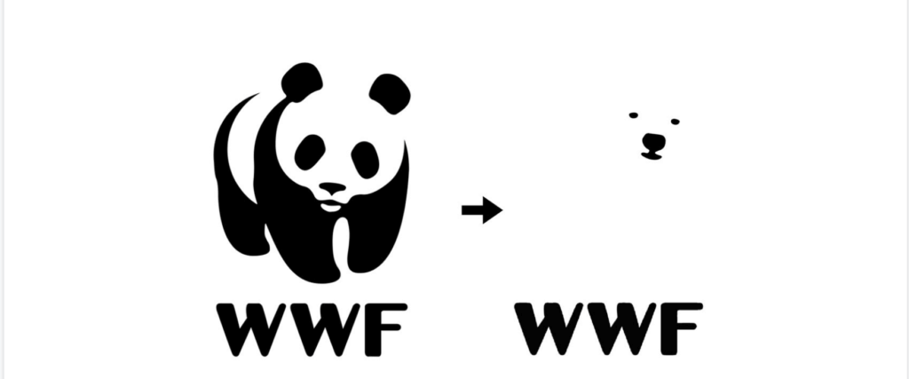 brand mark logotipo marchio wwf