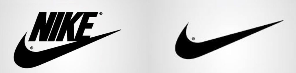 brand mark logotipo marchio nike