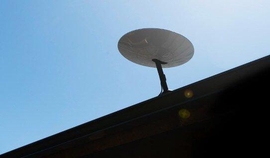 parabola starlink internet satellitare space x