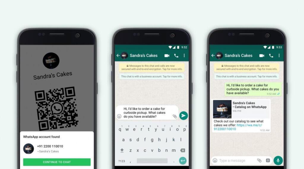whatsapp business qr code