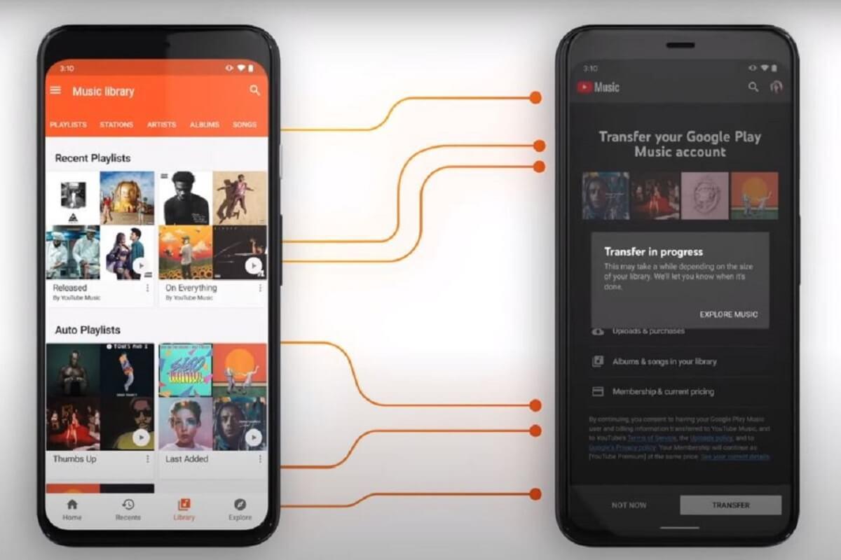Google Play Music chiude e diventa YouTube Music