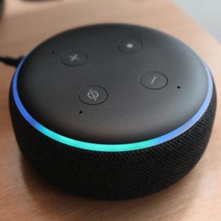 UI assistente vocale smart speaker