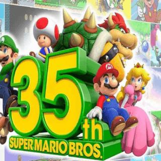 Super Mario 35esimo compleanno