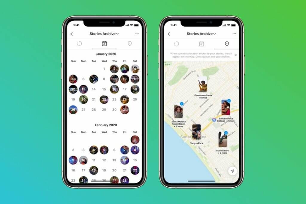 Anniversario Instagram 10 anni - mappa stories