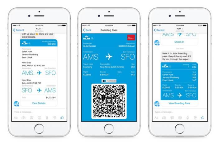 chatbot KLM