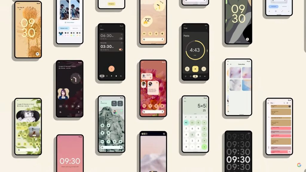 Material You Android 12 Redesign Material You e la storia di Material Design 9 Baasbox